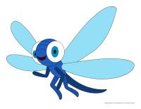 Marionnettes-Les libellules