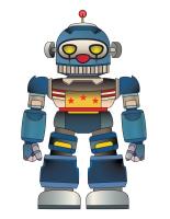 Marionnettes-Les robots