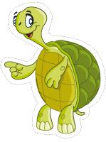 Marionnettes-Les tortues