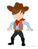 Marionnettes-Les westerns