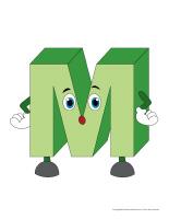 Marionnettes-Lettre M