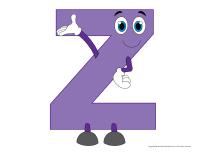 Marionnettes-Lettre Z