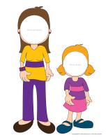 Marionnettes-Ma maman et moi