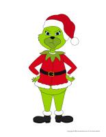 Marionnettes-Noël-heureux ou grincheux-1