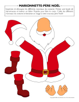 Marionnettes-Royaume du père Noël