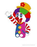 Marionnettes à doigts-Clown
