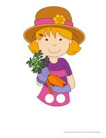 Marionnettes à doigts-Jardiniers-Jardinières-1
