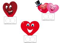 Marionnettes à doigts-La Saint-Valentin