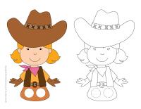 Marionnettes à doigts-Les westerns-2
