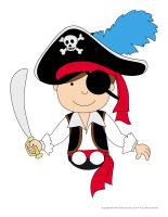 Marionnettes à doigts-Pirates