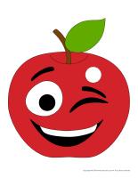 Marionnettes à doigts-Pommes