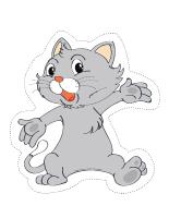 Marionnettes-les chats et les chatons