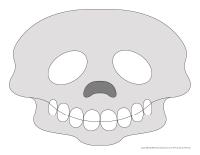 Masque-Squelette Halloween