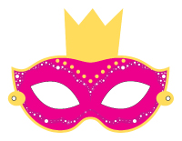 Masque princesse