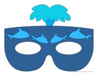 Masques-Les baleines