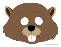 Masques-Les castors