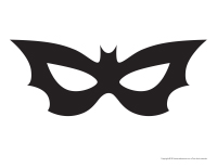 Halloween les chauvesouris activit s pour enfants - Masque chauve souris a imprimer ...