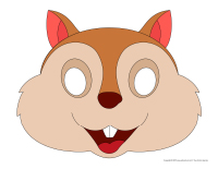 Masques-Les écureuils