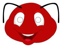 Masques-Les fourmis