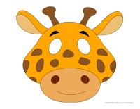 Masques-Les girafes