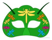 Masques-Les libellules