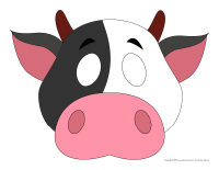 Masques-Les vaches