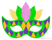 Masques-Mardi gras