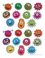 Masques de microbes
