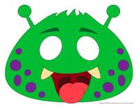 Masques de monstres