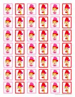 Mémos et timbres-Les lutins de la Saint-Valentin-2