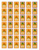Mémos et timbres-Lutins de l'Halloween-2
