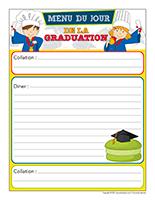 Menu interactif-Graduation 2021