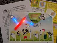Mini-ensemble de faux germes lumineux