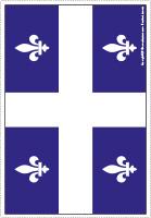 Modèle-Drapeau du Québec