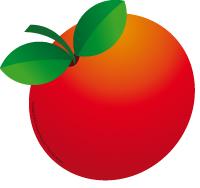 Modèle-grosse pomme