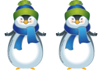 Modèles - Pingouins et manchots