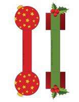 Modèles-Anneaux serviettes de Noël