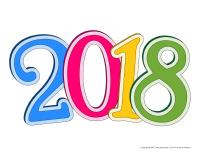 Modèles-Bonne année 2018