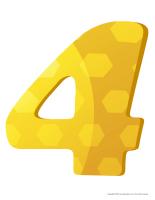Modèles-Le chiffre 4