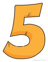 Modèles-Le chiffre 5