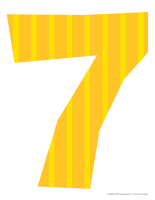 Modèles-Le chiffre 7