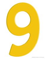 Modèles-Le chiffre 9