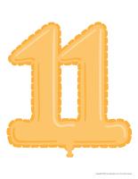 Modèles-Le nombre 11