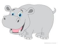 Modèles-Les hippopotames