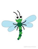 Modèles-Les libellules