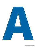 Modèles-Lettre A