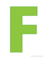 Modèles-Lettre F
