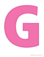 Modèles-Lettre G