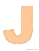 Modèles-Lettre J