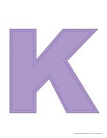 Modèles-Lettre K